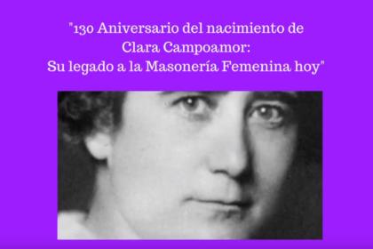 Actos de conmemoración del 130 aniversario Clara Campoamor